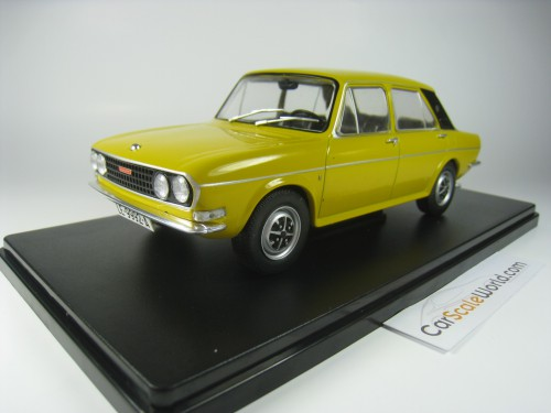 AUSTIN VICTORIA 1972 1/24 IXO SALVAT (YELLOW) WITH