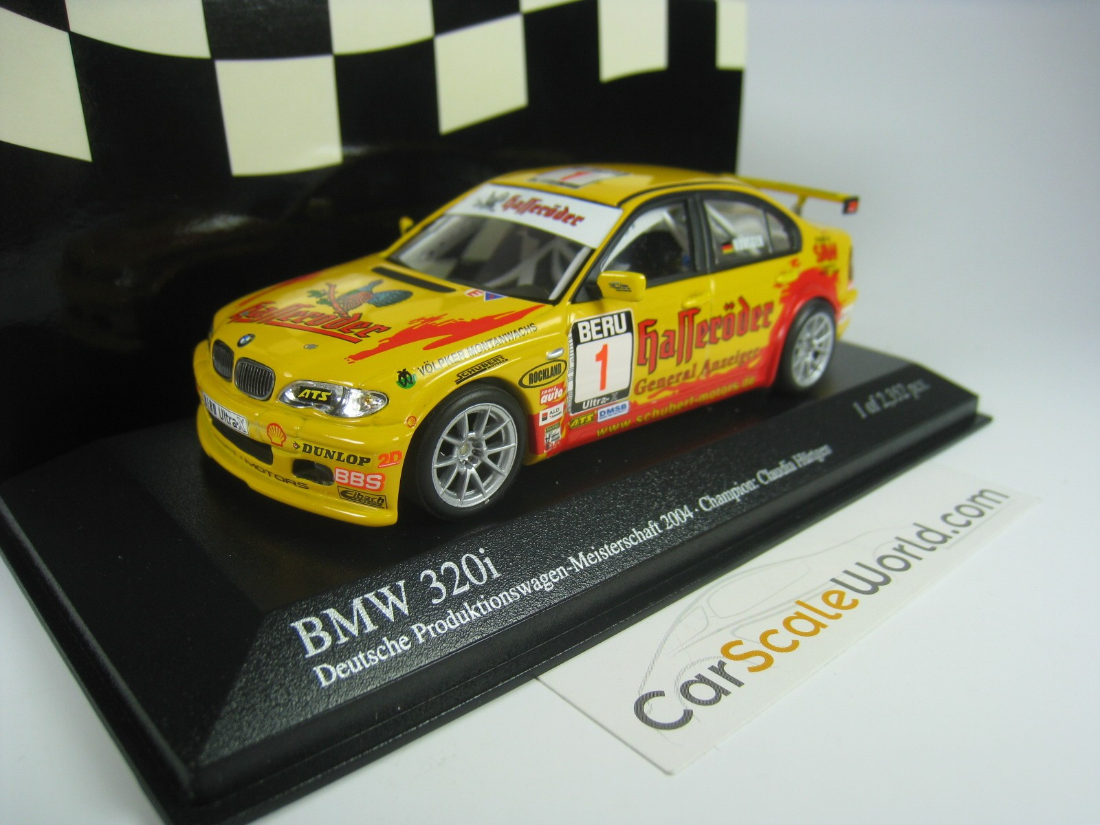 bmw 320i e46 schubert motors dmsb pwm2004 h rtgen 1 43 minichamps carscaleworld. Black Bedroom Furniture Sets. Home Design Ideas