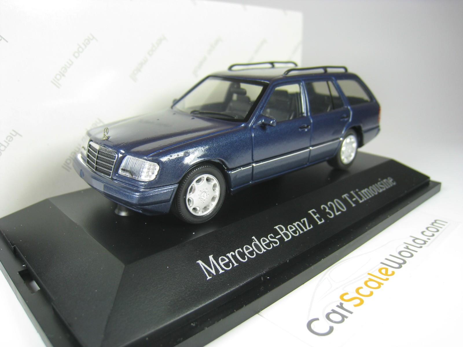 mercedes benz e320 t modell w124 1 43 herpa grey. Black Bedroom Furniture Sets. Home Design Ideas