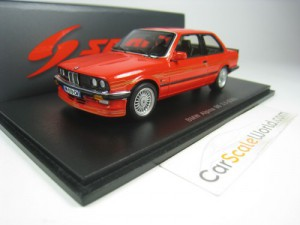 BMW ALPINA B6 3.5 (E30) 1988 1/43 SPARK (RED)