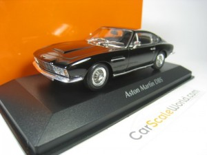 ASTON MARTIN DBS 1967 1/43 MAXICHAMPS (BLACK)