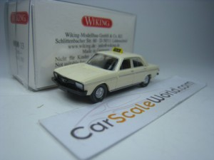 AUDI 100 C1 TAXI GERMANY 1/87 WIKING