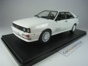 AUDI QUATTRO 1980 1/24 IXO SALVAT (WHITE) WITH BLI