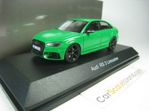 AUDI RS3 LIMOUSINE 1/43 iSCALE (GREEN)