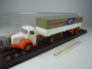 BERLIET GLR 8 ORANGINA 1/87 BREKINA (WHITE/ ORANGE