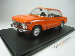 BMW 2002 Tii 1971 1/24 IXO SALVAT (ORANGE) WITH BL