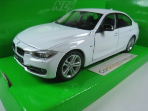 BMW 3 SERIES F30 1/24 WELLY (WHITE)