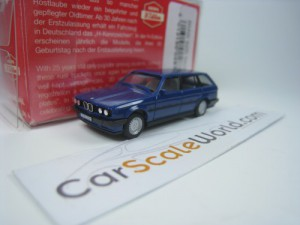 BMW 3 SERIES TOURING E30 1/87 HERPA H EDITION (BLU