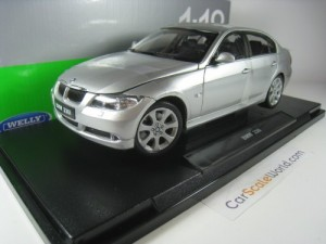 BMW 3 SERIES E90 - 330i 1/18 WELLY (SILVER)