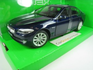 BMW 5 SERIES F10 - 535i 1/24 WELLY (DARK BLUE)