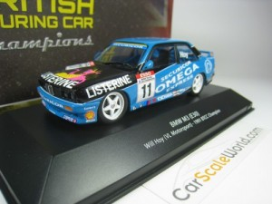 BMW M3 E30 BTCC CHAMPION 1991 WILL HOY 1/43 IXO AT