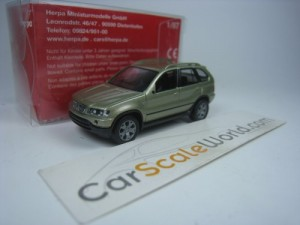 BMW X5 E53 1/87 HERPA (LIGHT GREEN)