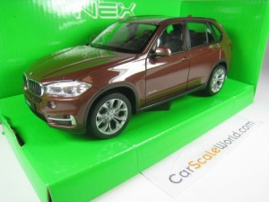 BMW X5 F15 1/24 WELLY (BROWN METALLIC)