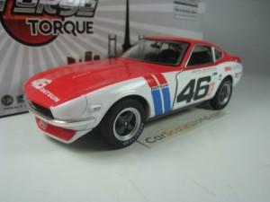 BRE DATSUN 240Z 1970 1/24 GREENLIGHT (RED/WHITE)