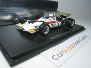 BRM P153 #4 FRENCH GP 1970 GEORGE EATON 1/43 SPARK