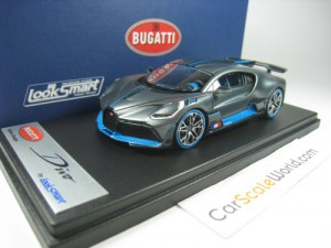 BUGATTI DIVO THE QUAIL 2018 CONFIGURATION 1/43 LOO