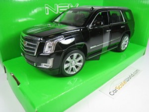 CADILLAC ESCALADE 2017 1/24 WELLY (BLACK)