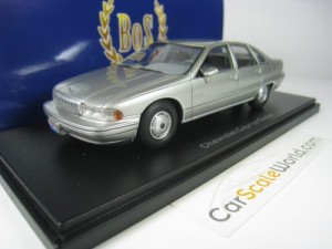 CHEVROLET CAPRICE 1991 1/43 BOS MODELS (SILVER)