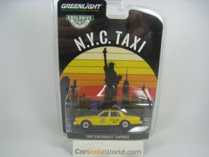 CHEVROLET CAPRICE 1981 NYC TAXI 1/64 GREENLIGHT