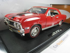 CHEVROLET CHEVELLE SS 396 1967 1/18 MOTORMAX (RED)