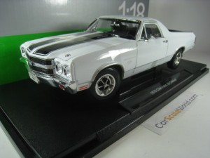 CHEVROLET EL CAMINO SS 395 1970 1/18 WELLY (WHITE)