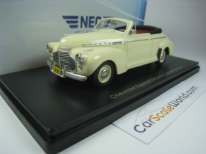 CHEVROLET SPECIAL DELUXE CONVERTIBLE 1941 1/43 NEO