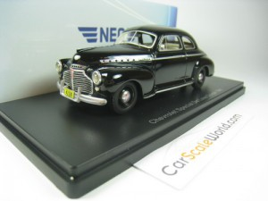 CHEVROLET SPECIAL DELUXE COUPE 1941 1/43 NEO (BLAC