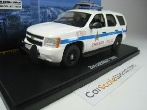 CHEVROLET TAHOE 2010 CITY OF CHIGAGO POLICE 1/43 G