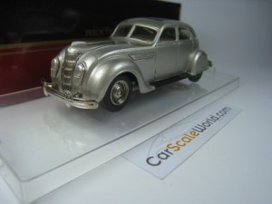 CHRYSLER AIRFLOW 1935 1/43 REXTOYS (SILVER)