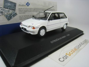 CITROEN AX KWAY 1988 1/43 SOLIDO (WHITE)