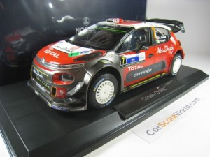 CITROEN C3 WRC 2017 WINNER RALLY MEXICO  K.MEEKE 1