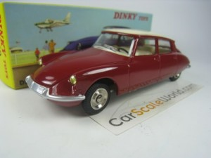 CITROEN DS 19 1/43 DINKY TOYS ATLAS (BURGUNDY)