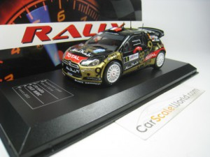 CITROEN DS3 WRC #1 RALLY FRANCE 2013 S. LOEB 1/43