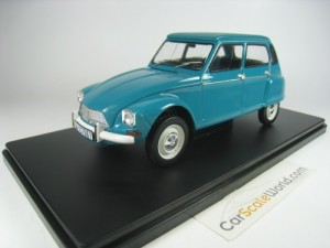 CITROEN DYANE 6 1970 1/24 IXO SALVAT (BLUE) WITH B