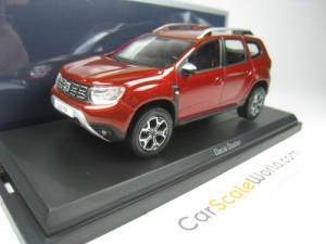 DACIA DUSTER 2018 1/43 NOREV (FLAMME RED)