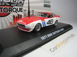 DATSUN 240Z #46 BRE (BROCK RACING ENTERPRISES) 1/4