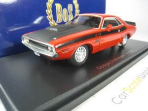 DODGE CHALLENGER T/A 1970 1/43 BOS MODELS (RED)