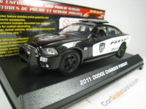 DODGE CHARGER PURSUIT POLICE 2011 1/43 MOTORMAX