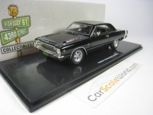 DODGE DART GTS 1968 1/43 HIGHWAY 61 (BLACK)