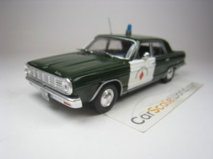 DODGE DART GUARDIA CIVIL TRAFICO 1/43 IXO DEAGOSTI