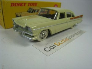 DODGE ROYAL SEDAN DINKY TOYS ATLAS (BEIGE)