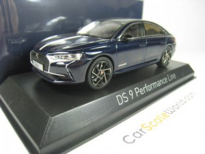 DS 9 PERFORMANCE LINE 2020 1/43 NOREV (DARK BLUE)