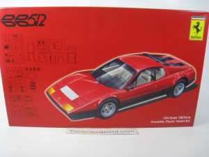 FERRARI 512 BB 1/24 FUJIMI (KIT ASSEMBLY)