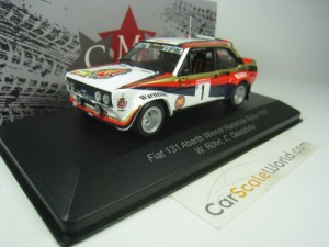 FIAT 131 ABARTH WINNER HUNSRÜCK RALLY 1980 W. ROHR