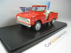 FORD BRONCO ROADSTER 1967 1/43 NEO (RED)