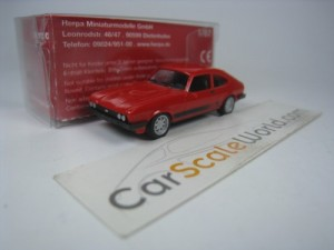 FORD CAPRI S 1/87 HERPA (RED)