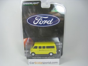 FORD CLUB WAGON 1968 COMMUNITY CHARTER BUS SYSTEM