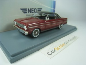 FORD FALCON SPRINT 1964 1/43 NEO MODELS (BURGUNDY)