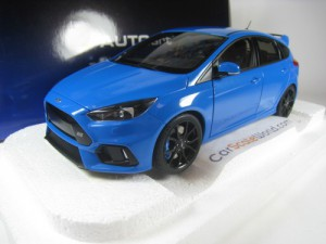 FORD FOCUS RS 2016 1/18 AUTOART (NITROUS BLUE)
