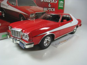 FORD GRAN TORINO 1976 STARSKY AND HUTCH 1/18 GREEN